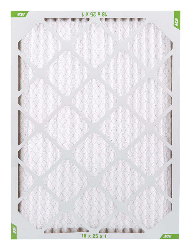Ace  18 in. H x 25 in. W x 1 in. D Pleated  Air Filter