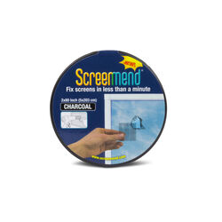ScreenMend Charcoal Fiberglass Screen Repair Patch 2 in. W x 80 in. L 1 pk