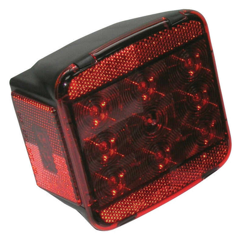 Peterson  Mounting  Stop and Tail Light with License Light  Submersible