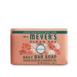 Mrs. Meyer's  Clean Day  Organic Geranium Scent Bar Soap  5.3 oz.