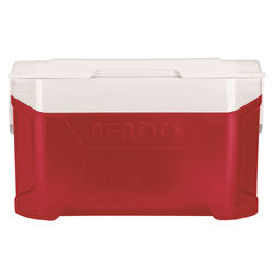 Igloo  Latitude  Cooler  50 qt. Red