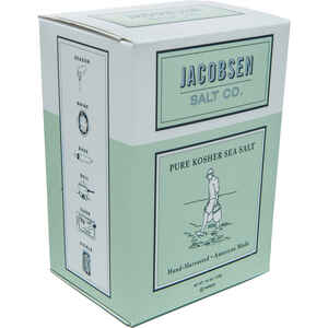 Jacobsen Salt Co.  Pure Kosher Sea  Salt  1 lb.