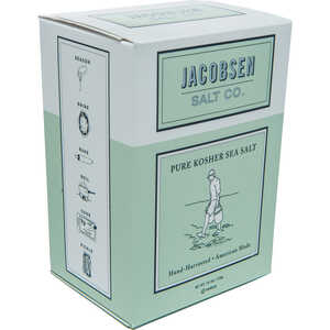 Jacobsen Salt Co.  Pure Kosher Sea  Salt  1
