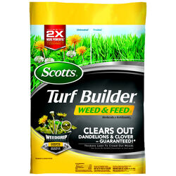 Scotts Turf Builder Weed & Feed 28-0-3 Lawn Fertilizer 5000 sq. ft. For All Grasses