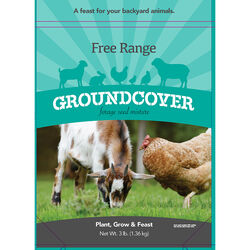Barenbrug Free Range Goundcover Mixed Sun/Partial Shade Pasture Seed Mix 3 lb.