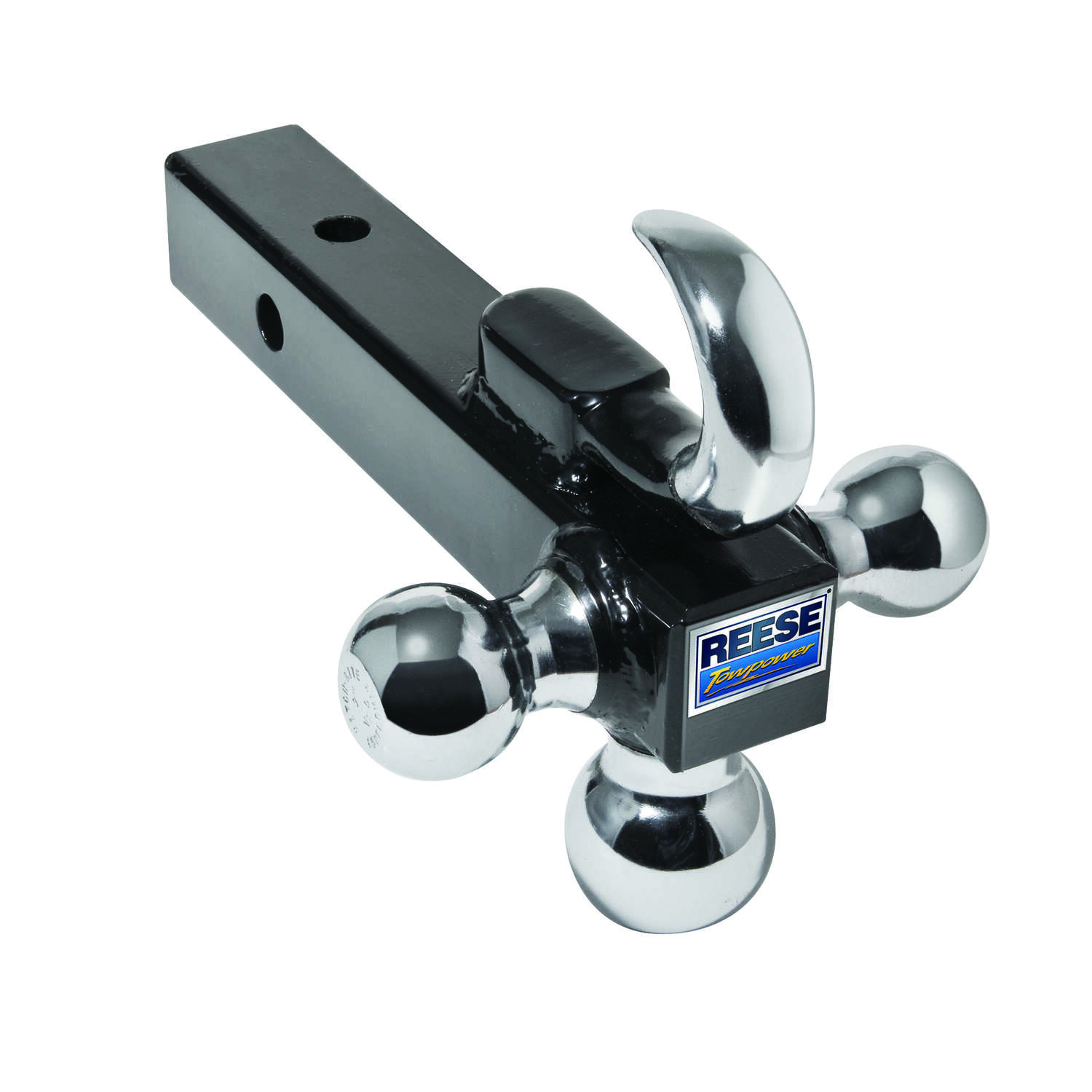 Reese  Towpower  13.48 lb. capacity Tri-Ball Mount  1 pk