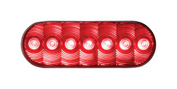 Peterson  Red  Oval  Stop/Tail/Turn  Light