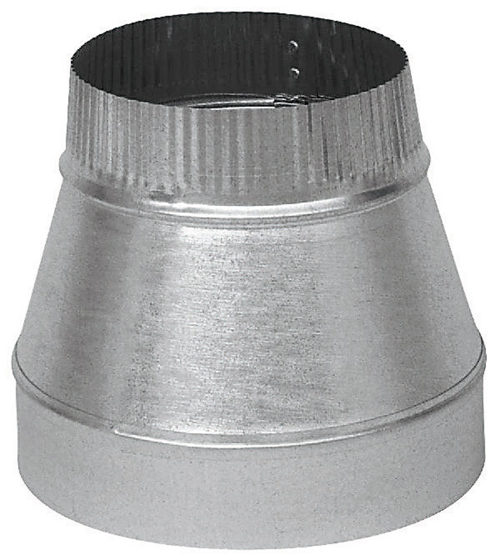 Imperial  7 in. Dia. x 5 in. Dia. Galvanized Steel  Furnace Pipe Reducer
