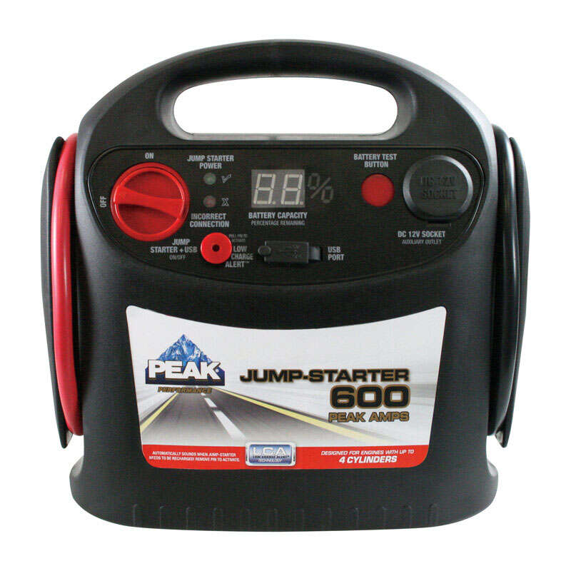 Peak  Automatic  12 volts 600 amps Battery Jump Starter