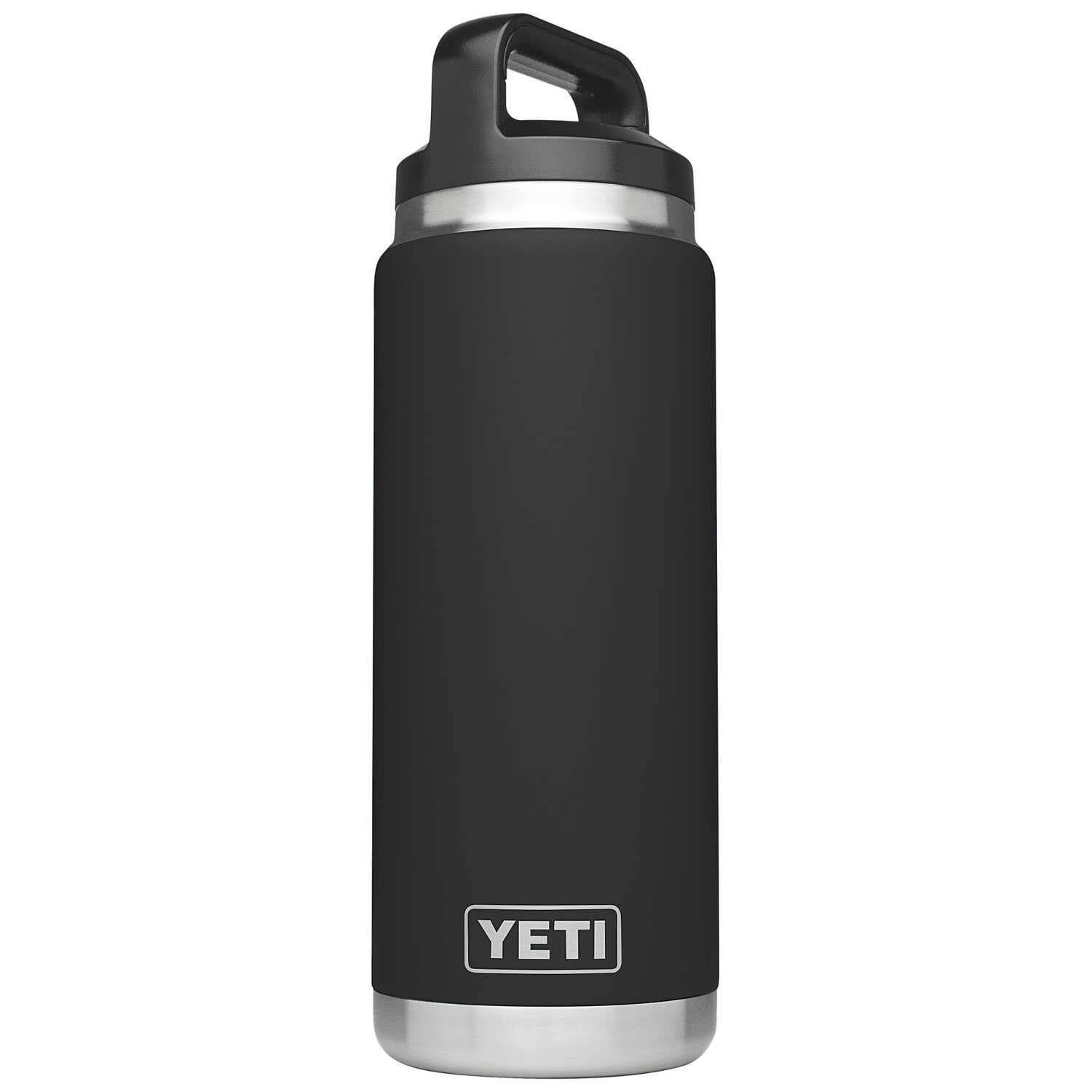 YETI  Rambler  Black  26 oz. Insulated Bottle  BPA Free Stainless Steel