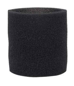 Craftsman  2 in. L x 7 in. W Wet/Dry Vac Foam Filter Sleeve  Black  1 pc.