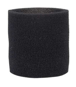 Craftsman  2  L x 7 in. W Wet/Dry Vac Foam Filter Sleeve  Black  1 pk