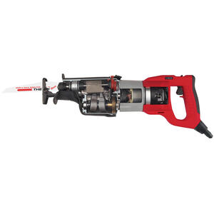 Milwaukee  SUPER SAWZALL  Corded  13 amps Orbital Reciprocating Saw  Kit