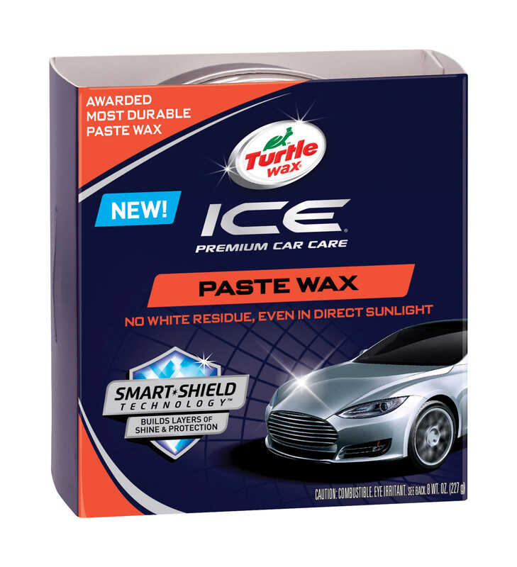 Ice  Paste  Automobile Wax  For All Finishes 8 oz.
