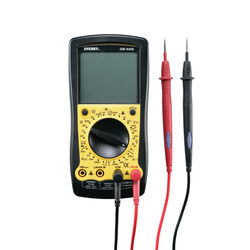 Sperry 2/20/200/750 VAC, 200mV/2/20/200/1000 VDC LCD Multimeter