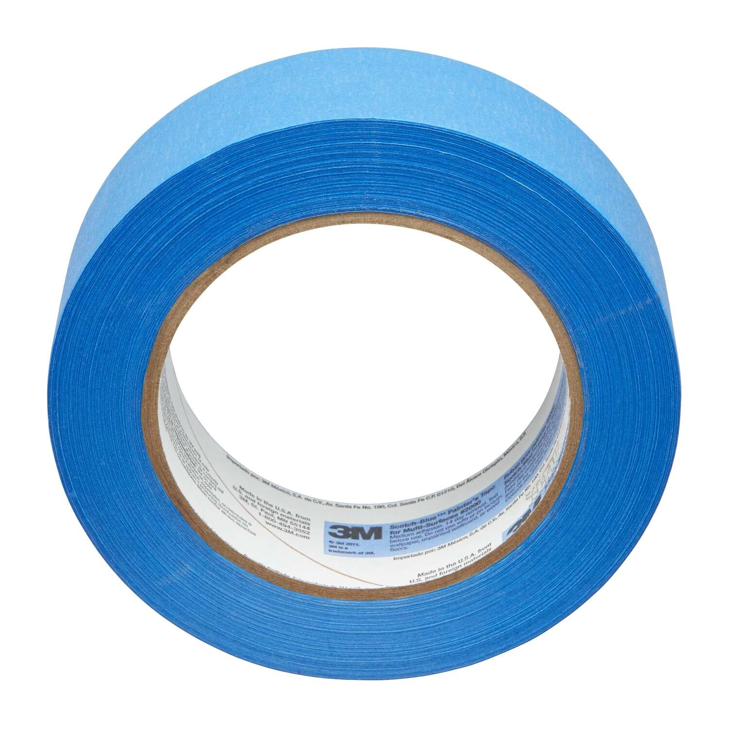 3M  Scotch Blue  2 in. W x 60 yd. L Blue  Medium Strength  Painter's Tape  3 pk