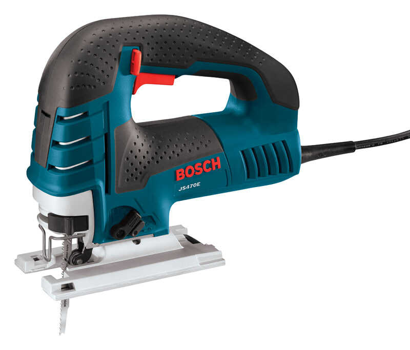 Bosch  1 in. Corded  Keyless Top Handle Jig Saw  120 volts 7 amps 3100 spm