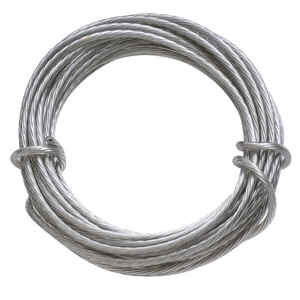 OOK  OOK  Steel-Plated  Picture Wire  30 lb. Steel  1 pk