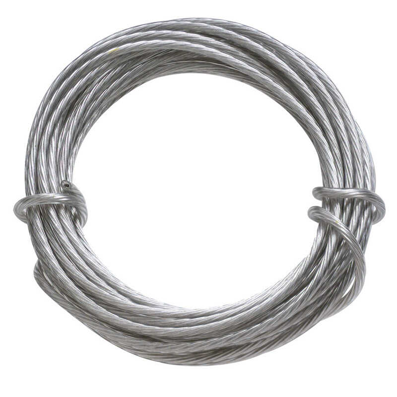 OOK  OOK  Steel-Plated  Picture Wire  30 lb. 1 pk Steel