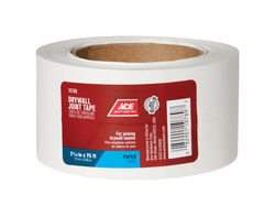 Ace  75 ft. L x 2.06 in. W Paper  White  Drywall Joint Tape