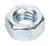 Hillman  M6-1.00 mm Zinc-Plated  Steel  Metric  Hex Nut  100 pk