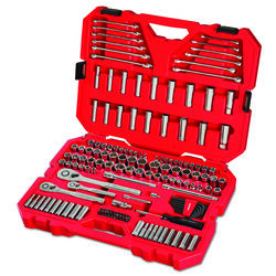 Craftsman  1/4, 3/8 and 1/2 in. drive  Metric and SAE  6 Point Auto  Mechanic's Tool Set  159 pc.