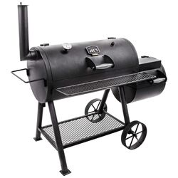 Oklahoma Joe's  Highland Offset  Charcoal  Smoker  Black