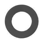 Danco  1/2 in. Dia. Rubber  Washer  1 pk
