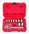 Craftsman 1/4 in. drive Metric 6 Point Socket and Ratchet Set 11 pc.