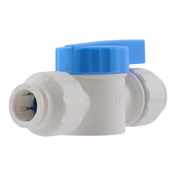 SharkBite  Quick Connect  1/2 in. CTS   x 1/2 in. Dia. CTS  Plastic  Stop Valve