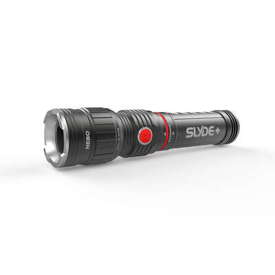 Nebo  Slyde Plus  300 lumens Black  LED  Work Light Flashlight  AAA Battery