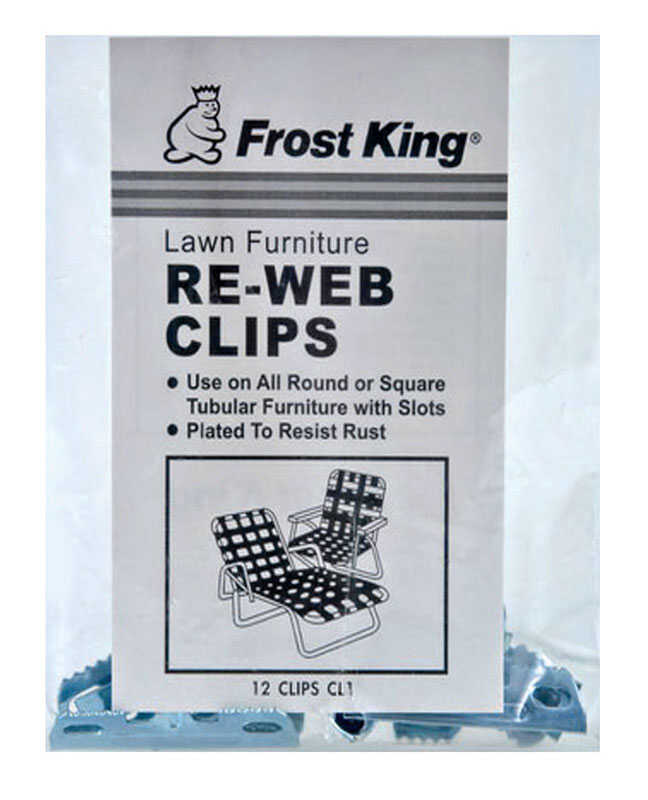 Frost King Chair Re-Webbing Clips