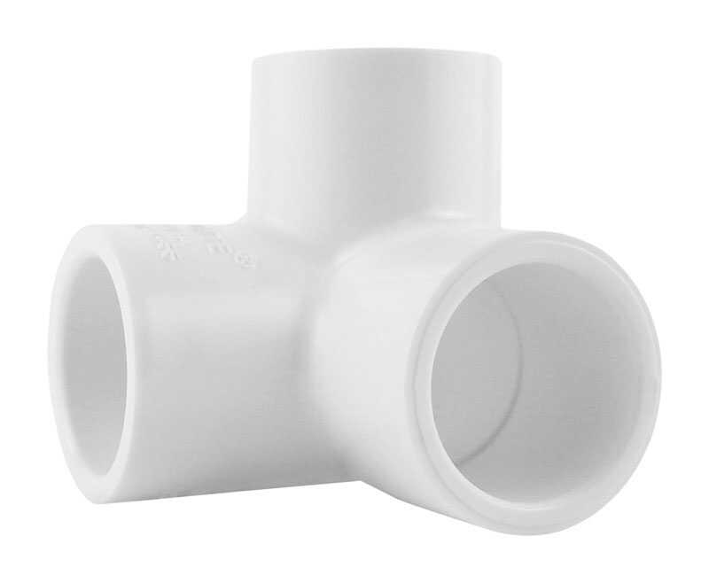 Charlotte Pipe  Schedule 40  1/2 in. Slip   x 1/2 in. Dia. Slip  PVC  Side Outlet Elbow