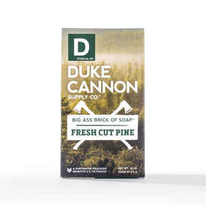 Duke Cannon  Fresh Cut Pine Scent Bar Soap  10 oz.