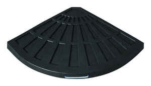 Bond Manufacturing  Black  Envirostone  Umbrella Base  25.98 in. L x 25.98 in. W x 1.65 in. H