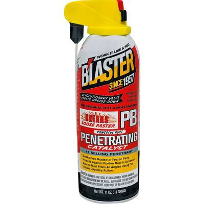 Blaster  PB  Spray  Penetrating Catalyst  11 oz. 1 pk