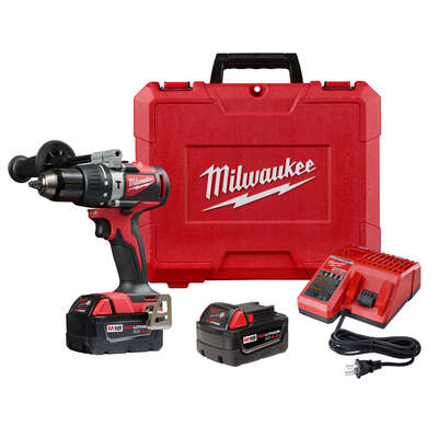 Milwaukee 18 volt 1/2 in. Brushless Cordless Hammer Drill Kit (Battery & Charger)