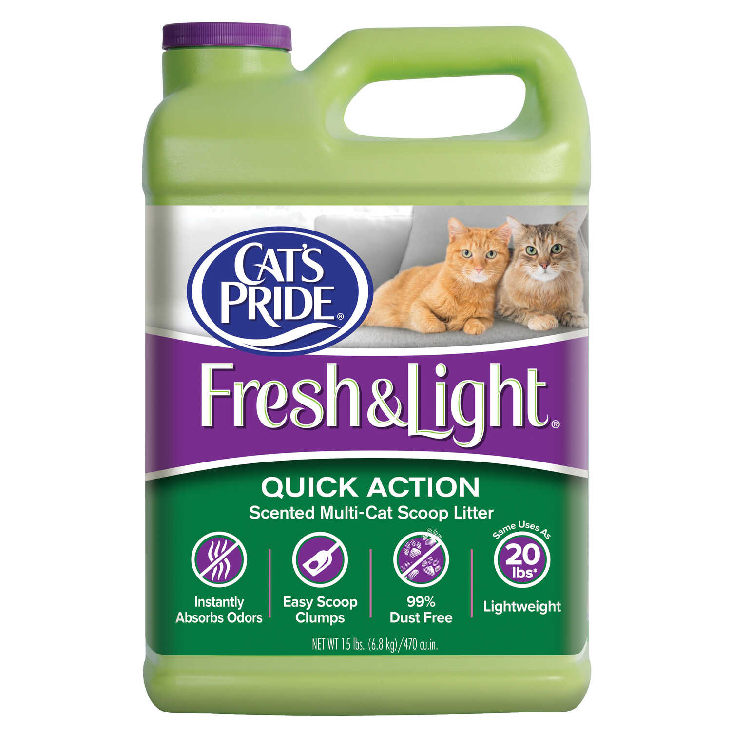 Cats Pride  Cat Litter  Fresh and Clean Scent