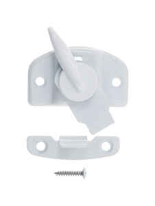 Ace  White  Brass  Draw Tight Sash Lock  1 pk
