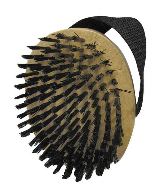 Aloe Care  For Dog Glossing Brush  1  1  Black/Yellow