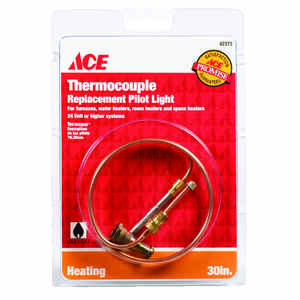 Ace  30 in. L 24 volt Universal Thermocouple