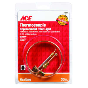 Ace Universal Thermocouple 24 volts 30 in. Copper