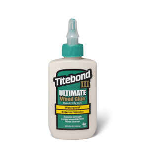 Titebond  III Ultimate  Tan  Wood Glue  4 oz.