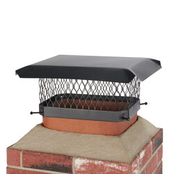HY-C Shelter Powder Coated Steel Chimney Cap