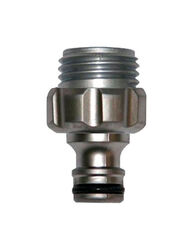 Gardena  5/8 & 1/2 in. Metal  Threaded  Male  Hose Accessory Connector