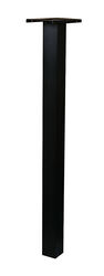 Gibraltar Mailboxes  Brighton  51 in. H x 12 in. D x 6 in. W Powder Coated  Black  Aluminum  Mailbox