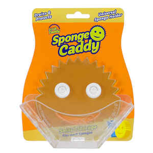 Scrub Daddy  Sponge Caddy  Heavy Duty  Sponge  For Household 6.5 in. L 1 pk