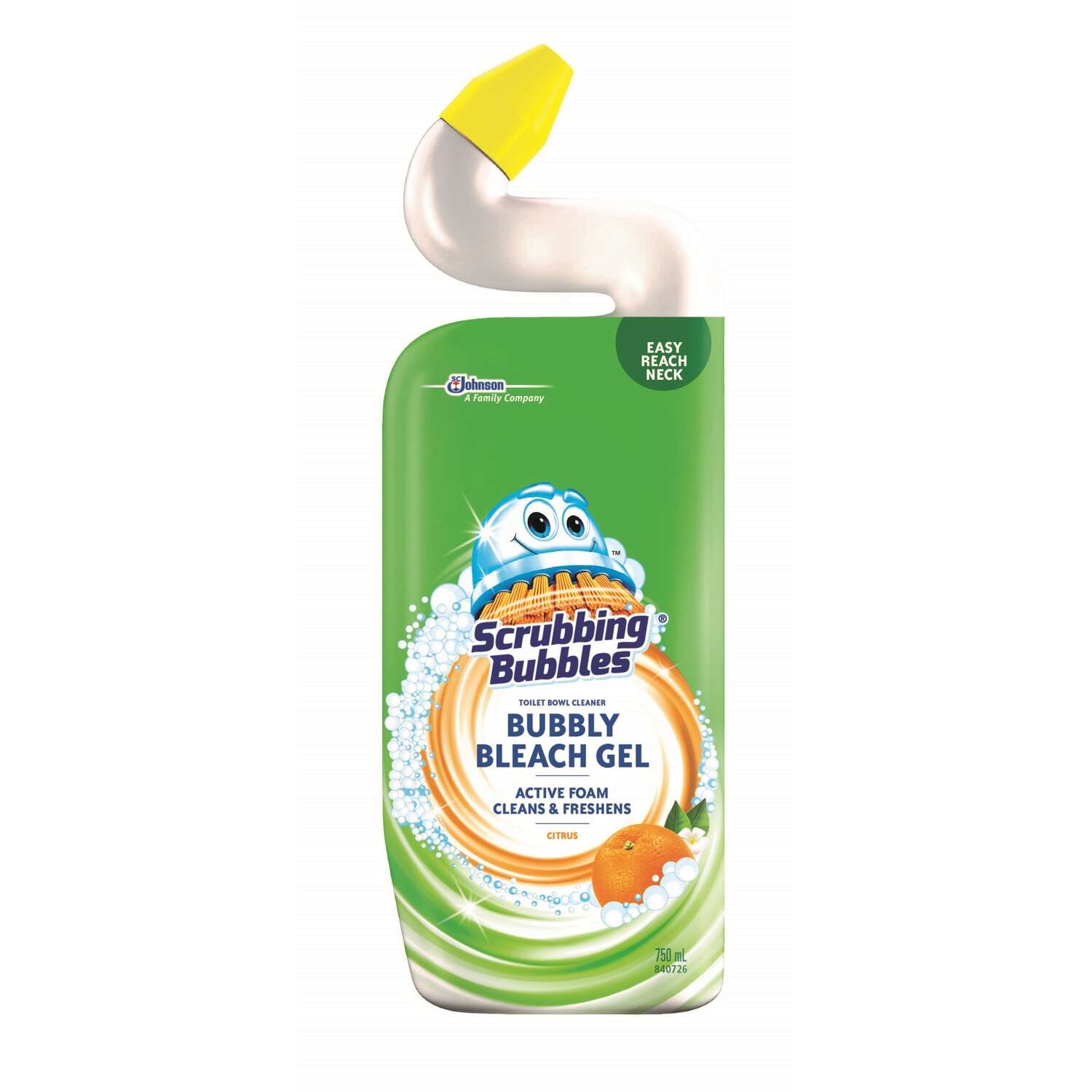 Scrubbing Bubbles  Bubbly Bleach Gel  Citrus Scent Toilet Bowl Cleaner  24 oz. Gel