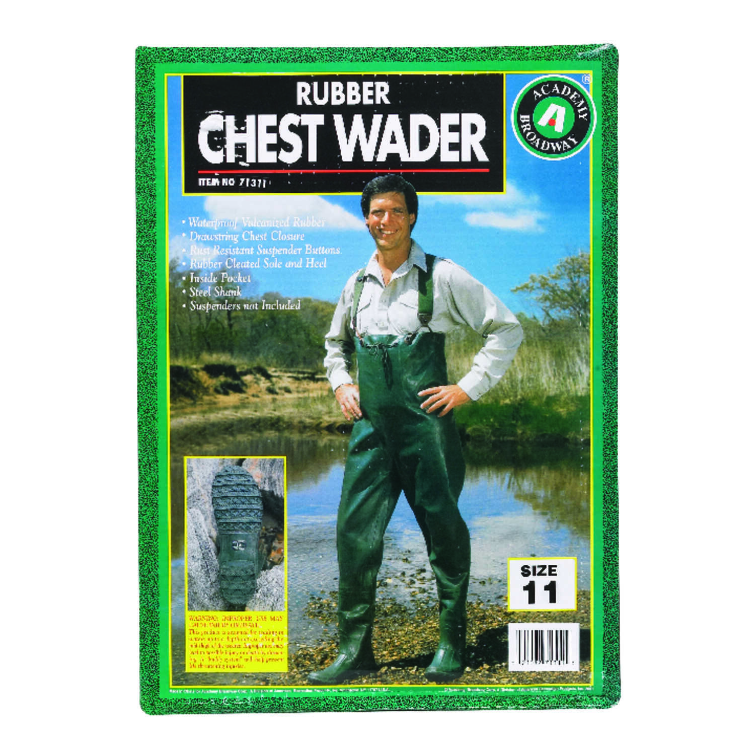 Academy Broadway Chest Wader 11 - Ace Hardware