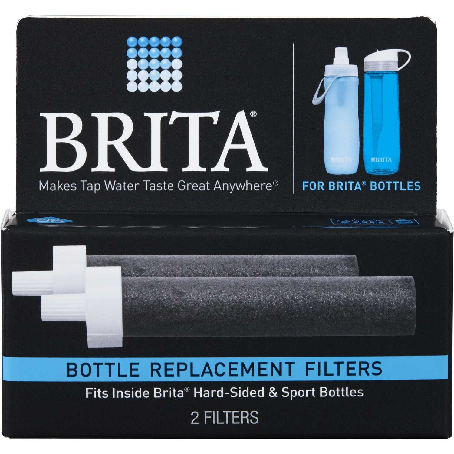 Brita  Drinking Water Replacement Filter  For Water Bottle 40 gal.
